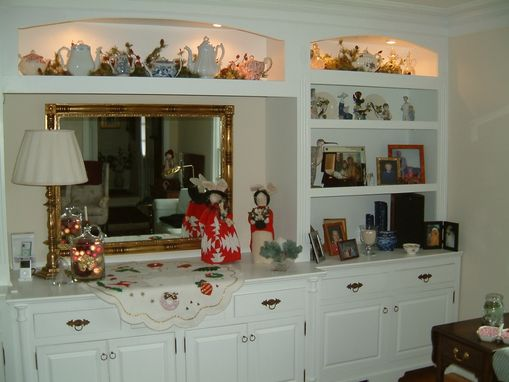 Custom Made Family Room Wall Unit