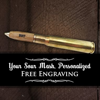 Custom Made Bourbon Whiskey Barrel Writing Pens