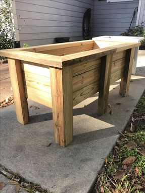 Custom Made Wood Planters