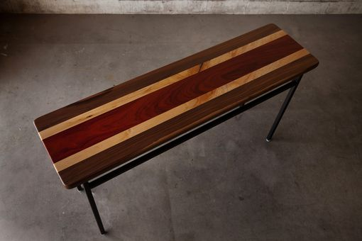 Custom Made Tri-Color Console Table