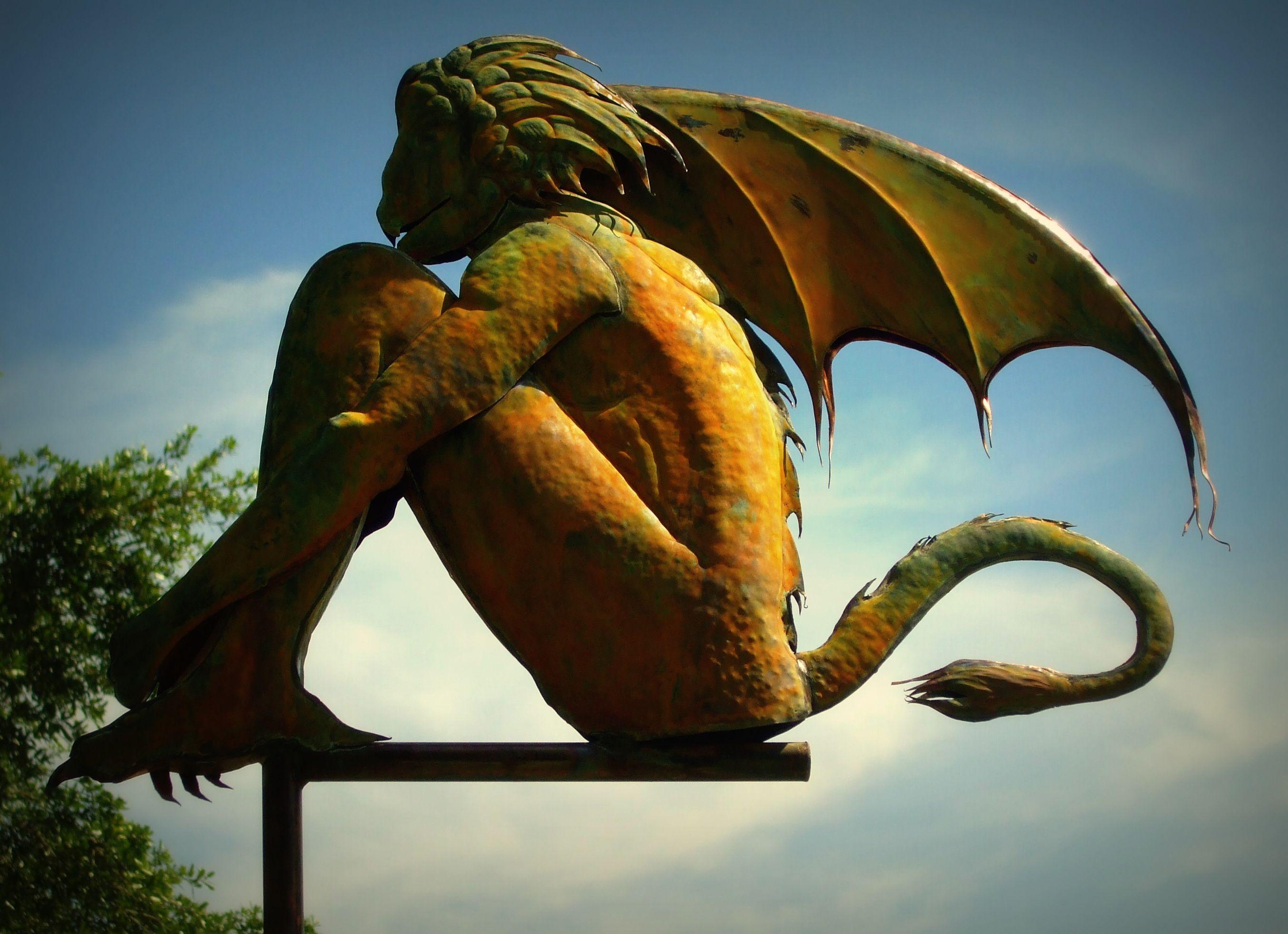 Handmade Gargoyle Weathervane By David Smith By David