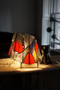 Custom Made Glass Art Lamp #59