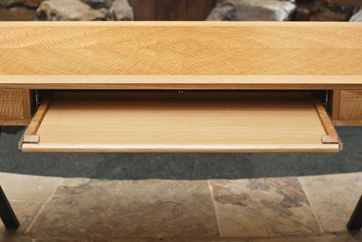Custom Made Anigre Executive Desk