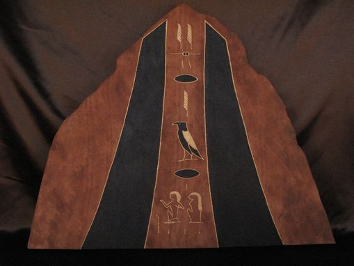"Custom Made Egyptian ""Israel"" Biblical Stone Tablet."
