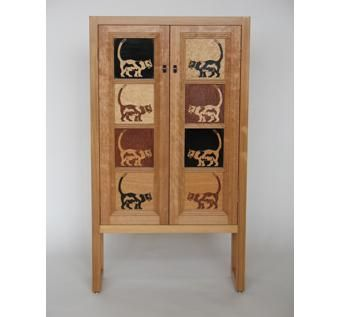 Custom Made Cat Cabinet