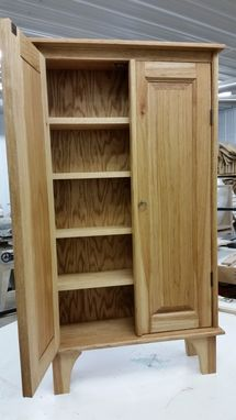 Custom Made Hickory Cupboards