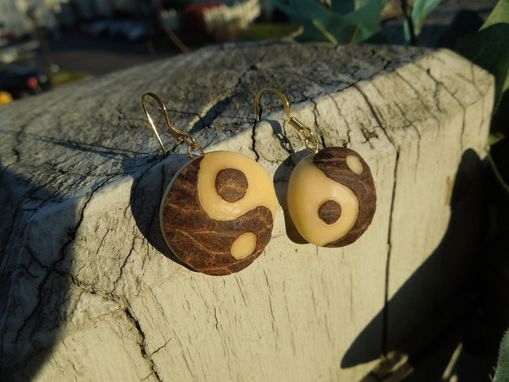 Custom Made Yin Yang Earrings