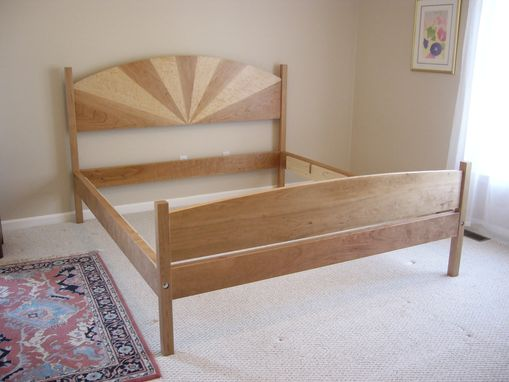 Custom Made Cherry Bed - King Size