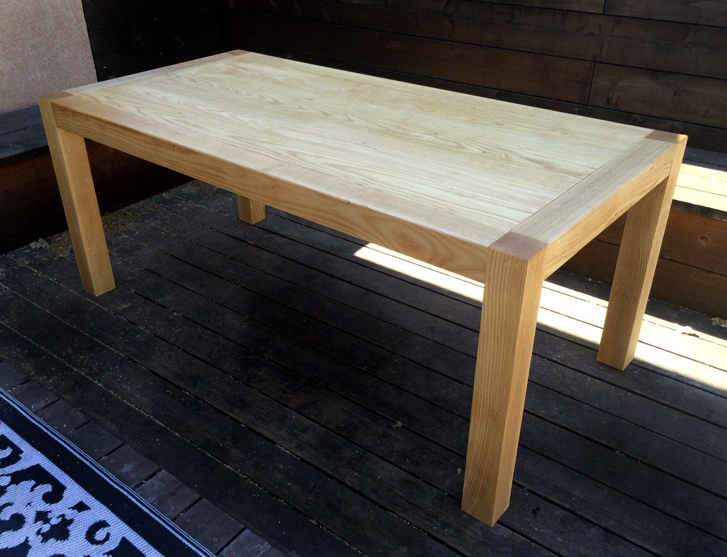 Reclaimed Wood Dining Table Industrial