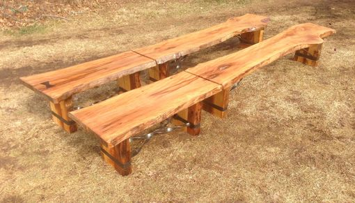 Custom Made Slab Benches