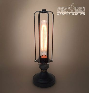 Custom Made Westmenlights Rustic Industrail Steampunk Table Desk Lamp Bedside Decorative Lighting