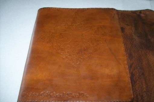Custom Made Leather Portfolio