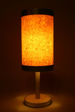 Custom Made Birdseye Lamp