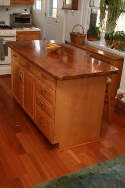 Custom Made Kitchen Island Top