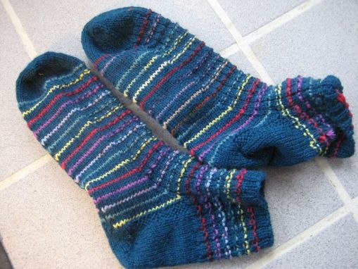 Custom Made Handknitted Socks