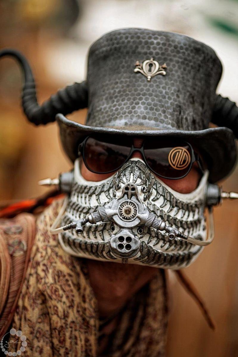 Handmade Steampunk Respirator By Faust Amp Company