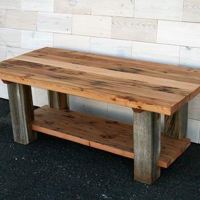 Reclaimed Fir And Barn Wood Coffee Table