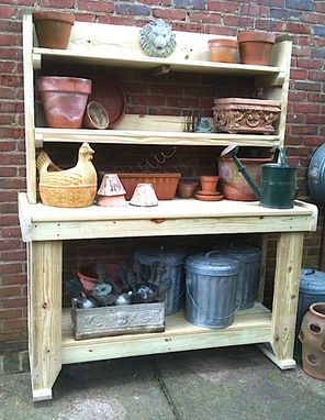 Custom Made Gardener's Potting Bench