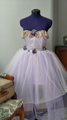 Custom Made Princess Or Fairy Costume Or Bridal Flower Girl Dress