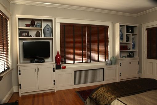 Custom Made Shelving & Custom Radiator Cover