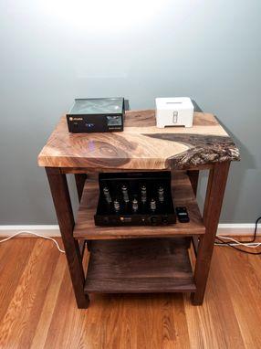 Custom Made Stereo Cabinet By Design By Jeff Spugnardi