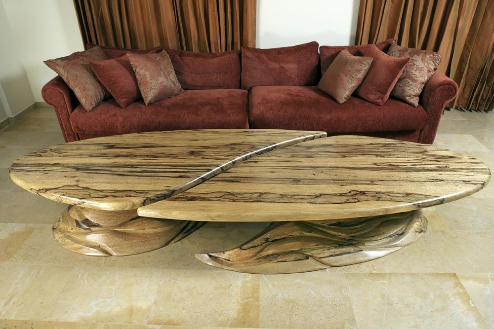 Custom Made Yin And Yang Giant Coffee Table