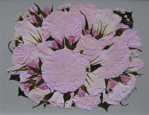 Custom Made Bridal Bouquet Preservation ~ Pressed Flower Art