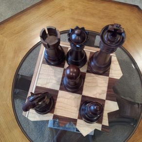 Custom Chess Boards, Pieces, and Sets | Handmade, Wooden