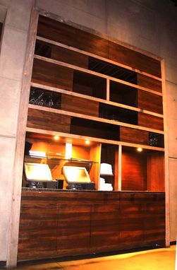 Custom Made Restaurant Cabinetry