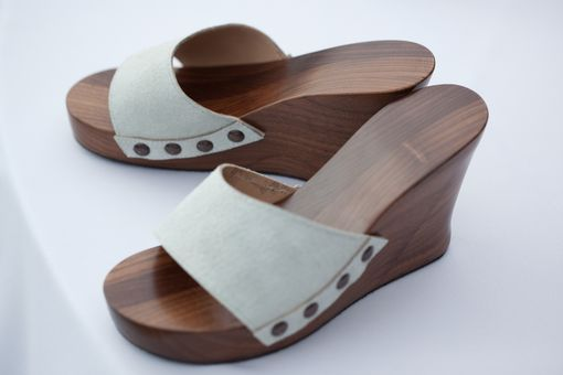 Custom Made Walnut Shoes