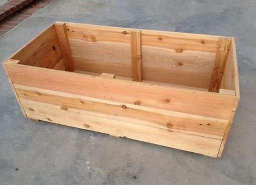 Custom Made Raised Bed Planter