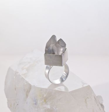 Custom Made Mineral/Crystal Rings