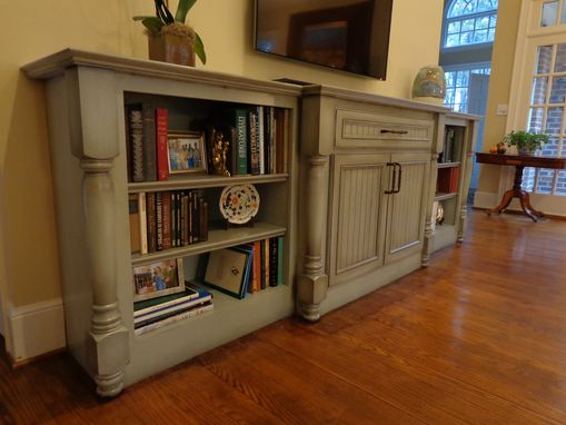Custom Made Entertainment Credenza