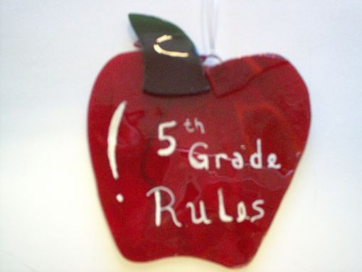 Custom Made Grade School Apples, Ready To Ship