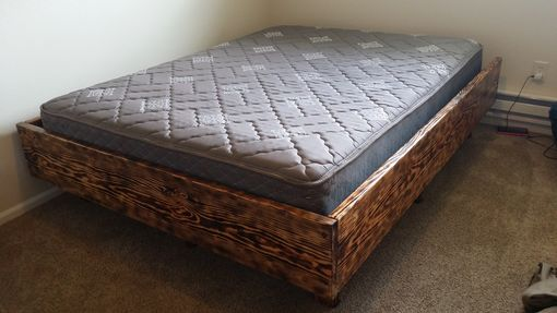Custom Made Wood Bed