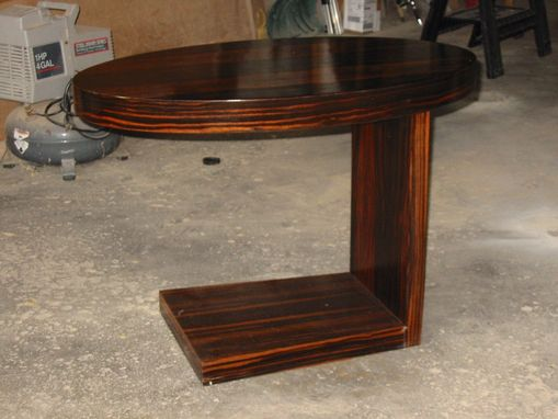 Custom Made Macassar Table