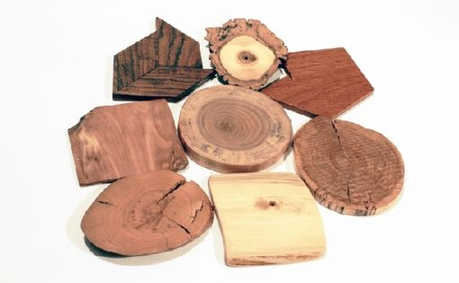 Custom Made Wooden Coasters In Various Styles And Designs