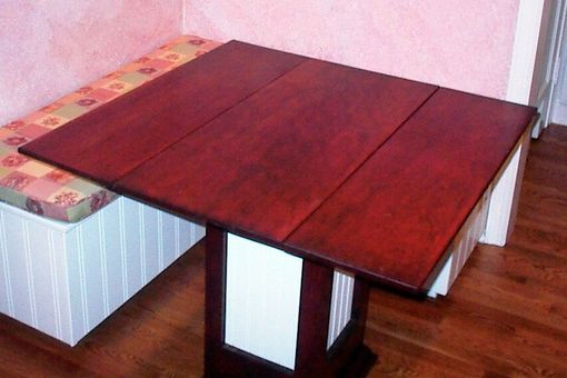 Custom Made Double Drop Leaf Kitchen Table