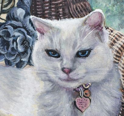 Custom Made Custom Hand Painted Pet Portraits:11