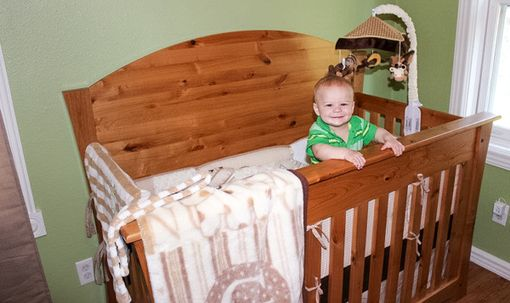 Custom Made 4 In 1; Crib, Railed Daybed, Daybed, Twin Size