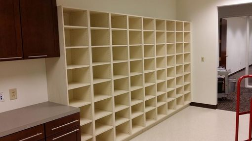Custom Made Custom Mail Room Cabinets