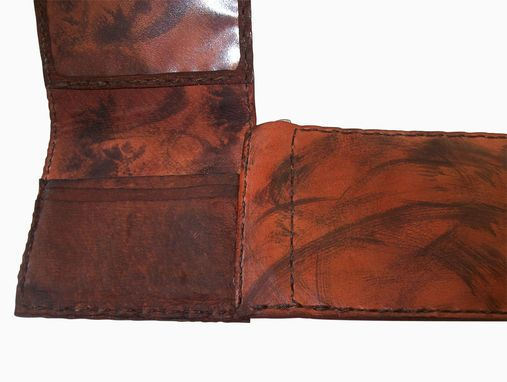 Custom Made Handcrafted Leather Wallet