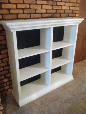 Custom Made Modern Bookcase.