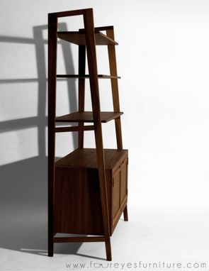 Custom Made Meanole - Custom Walnut Bookcase