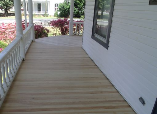Custom Made Tongue And Groove Flooring