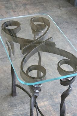 Custom Made Twist Table