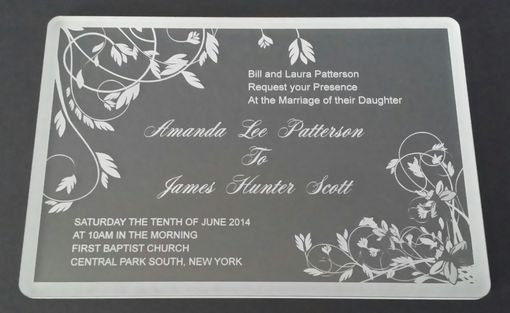 Custom Made Wedding Invitation (Set Of 30)