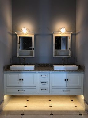 Custom Made Floating Vanity