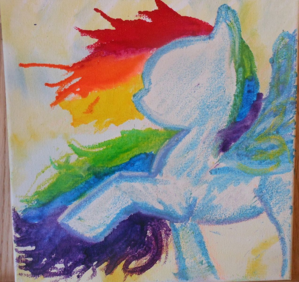 Hand Made Melted Crayon Art By Artisinmyheart Custommade Com