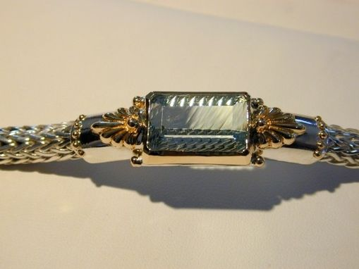 Custom Made Aquamarine Bracelet